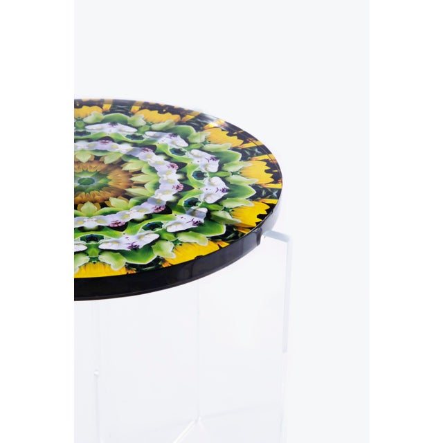 A fun collection of Hand made Acrylic Mandala Tables from The Flora Fractalis series in which Javier inspired by the cycle...