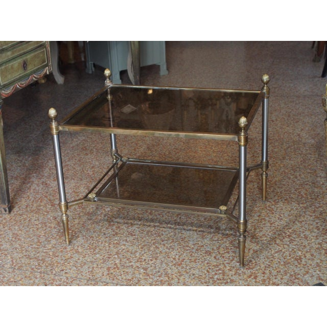 Art Nouveau Jansen Style Coffee Table For Sale - Image 3 of 9