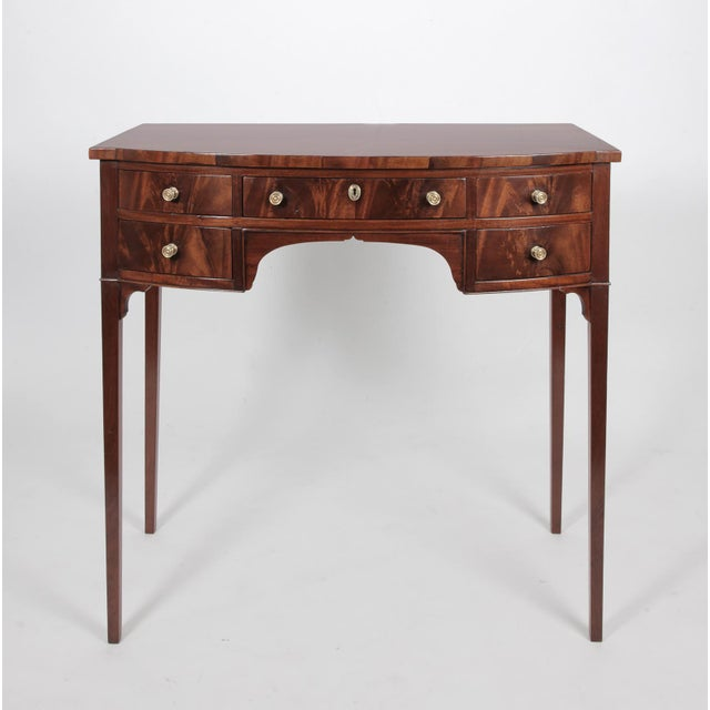 Antique English Regency Dressing Table For Sale - Image 9 of 9