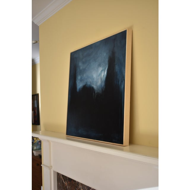 """Paint Modern """"The Abbey in Moonlight"""" Painting by Stephen Remick For Sale - Image 7 of 10"""