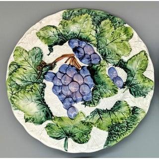 20th Century Italian Trompe l'Oeil Majolica Fruit Plates - Set of 4 Preview
