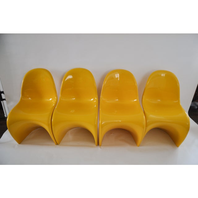 "Verner Panton ""S"" Chair - Set of 4 For Sale - Image 11 of 11"