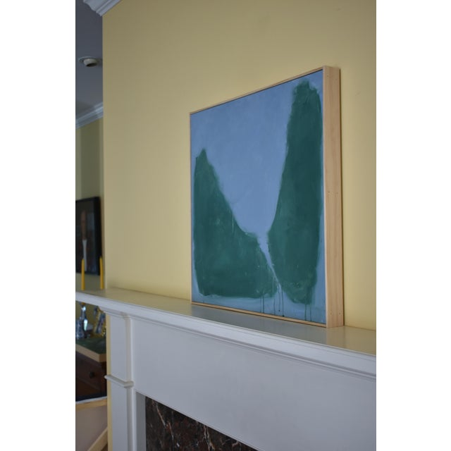 "Paint Stephen Remick ""Evening Descending"" Contemporary Abstract Painting For Sale - Image 7 of 12"