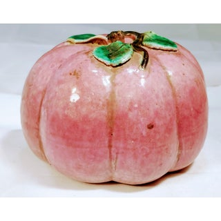 Antique Chinese Altar Fruit Model Melon Pomegranate Preview