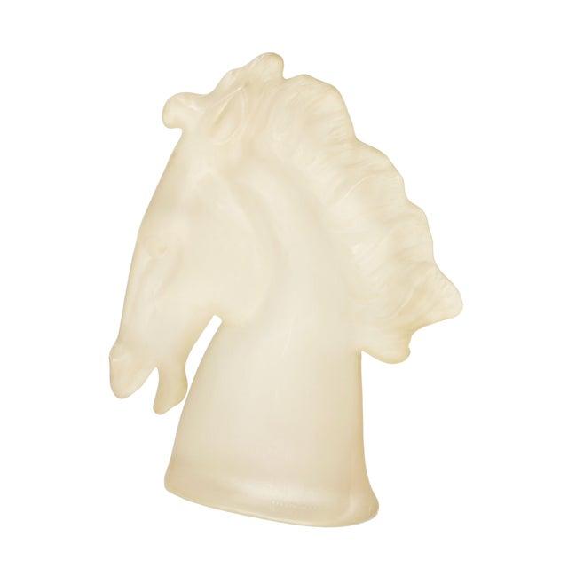 Austin Ing 1983 Lucite Horse Sculpture - Image 8 of 10