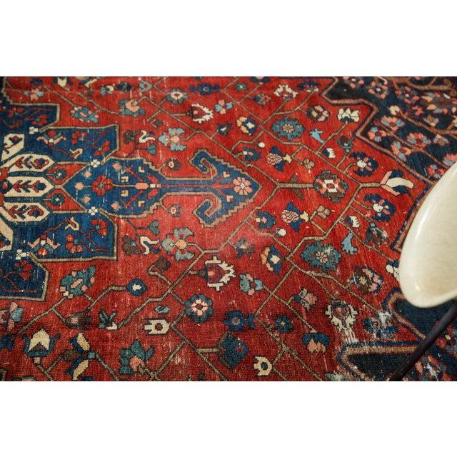 "Vintage Distressed Bakhtiari Carpet - 8'7"" X 11'8"" - Image 8 of 10"