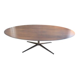 Florence Knoll Walnut Table For Sale