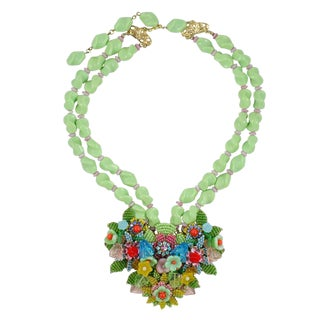Stanley Hagler Multi Color Necklace For Sale