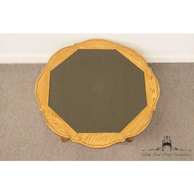 """Thomasville Thomasville Furniture Chateau Provence Collection 42"""" Slate Top Coffee Table For Sale - Image 4 of 11"""