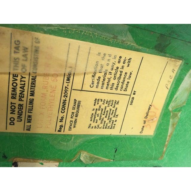 Metal 1970s Vintage Eames for Herman Miller Kelly Green Fiberglass PSCC Chair For Sale - Image 7 of 8