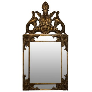 Highland House Louis XVI Catherine Gilt Mirror For Sale
