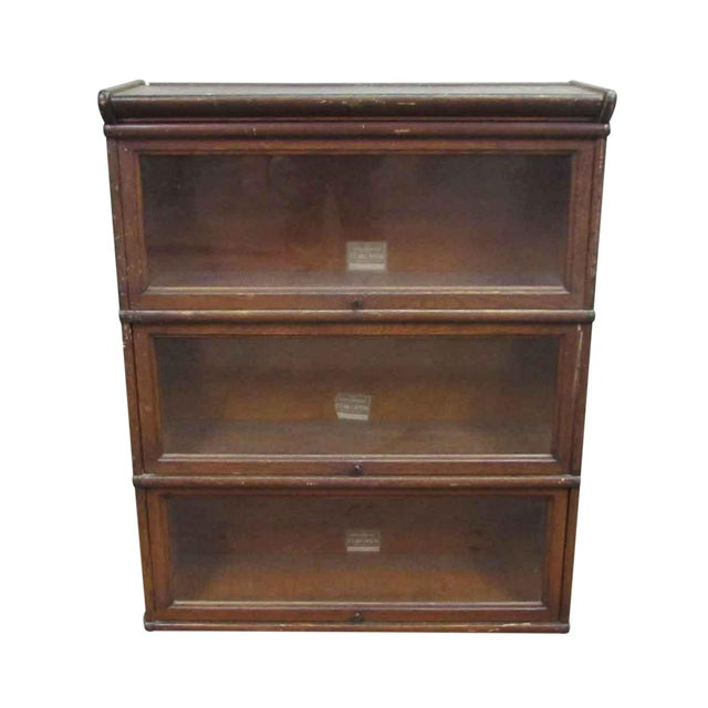 The Interchangeable Barrister Bookcase For Sale