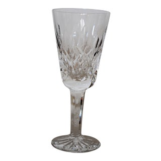 Vintage Lismore Waterford Crystal Old Mark Sherry Glass For Sale