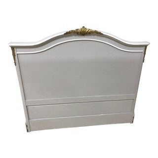 Antique/Vintage Full Size Headboard With Ormalu Mounts For Sale
