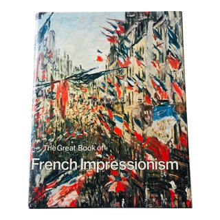 Large Vintage French Impressionism Art Book For Sale