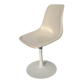 1960s Mid-Century Space Age Tulip Base Swivel Chair For Sale