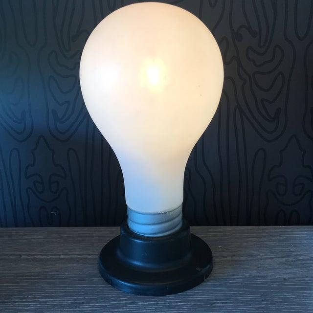 Vintage Lightbulb Table Lamp - Image 2 of 6