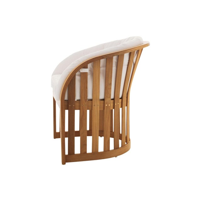 Contemporary Summit Furniture Picket Dining Chair For Sale - Image 3 of 3