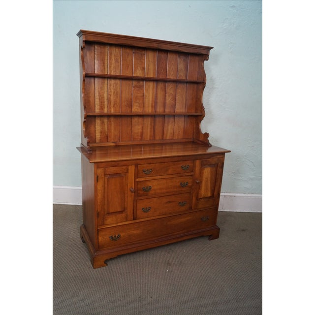 Stickley Vintage Cherry Open Hutch Cupboard - Image 2 of 10