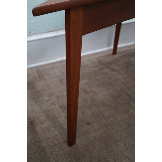 Mid Century Modern Studio Made Triangle Low Table For Sale - Image 9 of 10