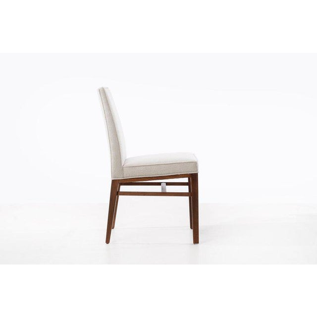 Dunbar Berne Edward Wormley Set of Six Dining Chairs For Sale - Image 4 of 13