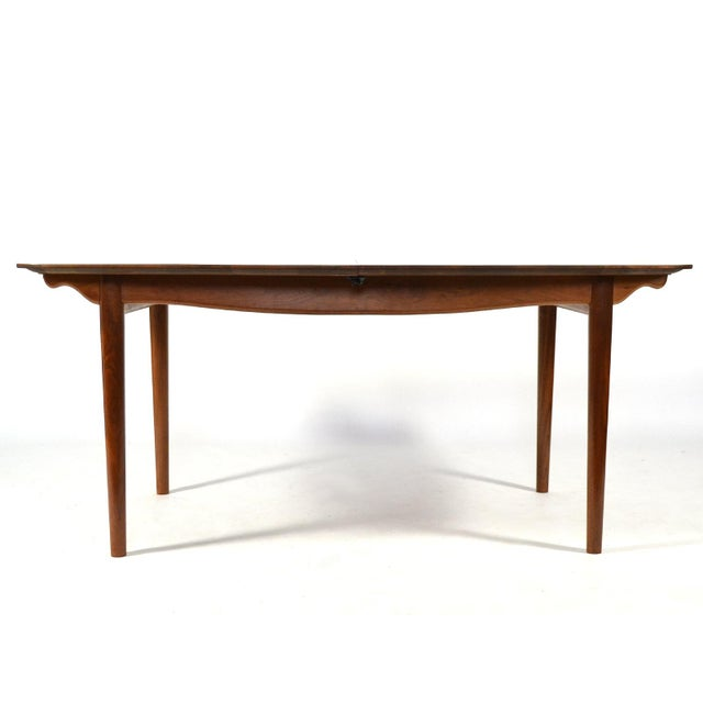 Finn Juhl Dining Table and Chairs For Sale In Chicago - Image 6 of 11