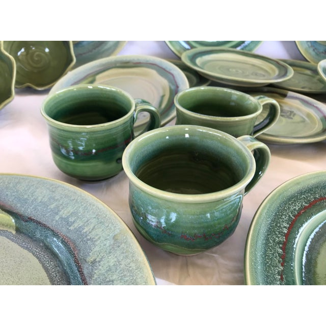 This listing is for a 24 Piece set of a total of 6 place settings. From a Carefree AZ estate comes this luscious set of...