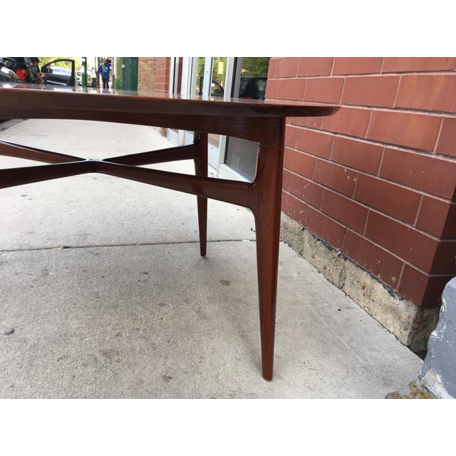 Mahogany Mid-Century Cocktail Table For Sale - Image 11 of 12