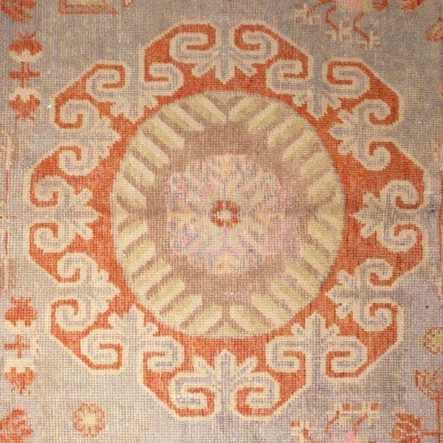 Early 20th Century Central Asian Khotan Carpet - 8' x 16' For Sale In Chicago - Image 6 of 6