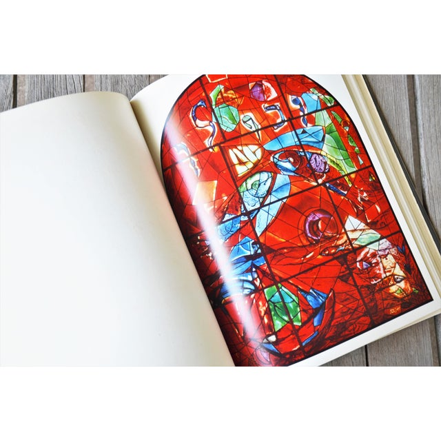 Blue Marc Chagall the Jerusalem Windows Hardback First Edition Book For Sale - Image 8 of 12