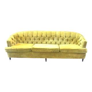 Vintage Kroehler Tufted Sofa