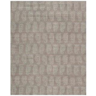 Stark Studio Rugs Contemporary Oriental 100% Bamboo Silk Rug - 4' X 12' For Sale