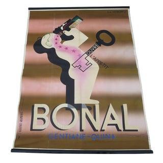 Four Sheet Art Deco Bonal Poster by A. M. Cassandre 1933 For Sale