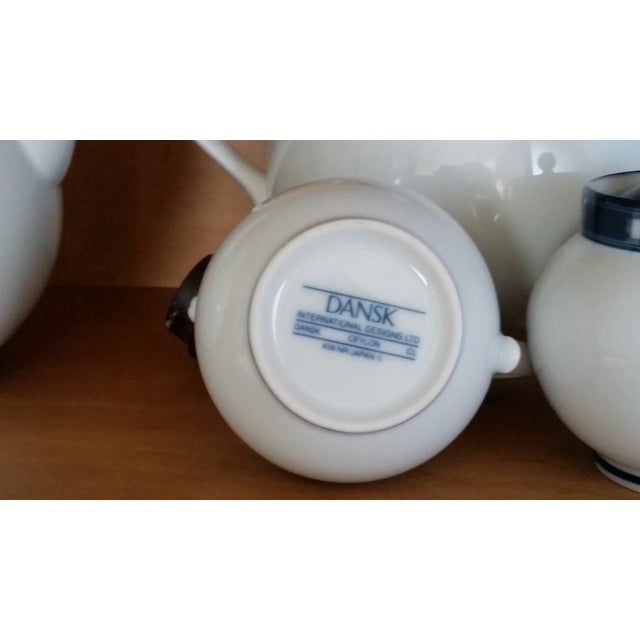 Dansk Ceylon Coffee & Tea Set - Set of 4 - Image 4 of 4