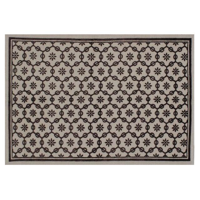 Stark Studio Rugs Traditional New Oriental Tibetan Wool Rug - 8′ × 10′ For Sale
