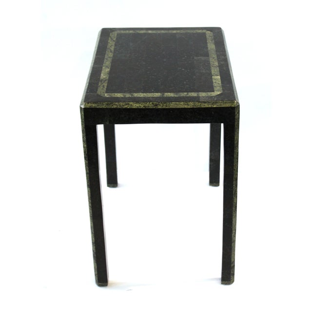 Maitland-Smith Modern Nesting Tables in Tessellated Stone - Set of 3 For Sale - Image 11 of 13