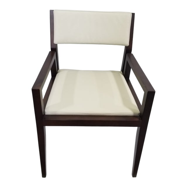Bernhardt Wood Guest Chair For Sale