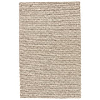 Jaipur Living Braiden Handmade Solid Gray Area Rug - 5′ × 8′ For Sale