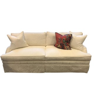 Early 21st Century Vintage Schumacher Conrad Sofa For Sale