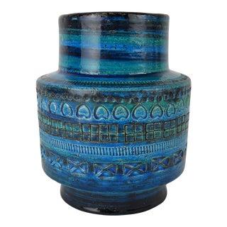Rimini Blu Aldo Londi for Bittosi Vase For Sale