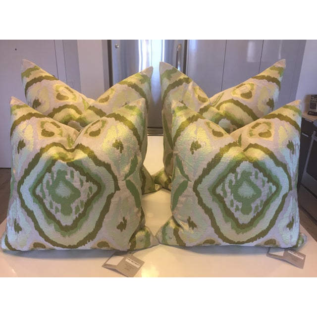 Enjoyable Kim Seybert Ikat Decorative Pillows 26X26 A Pair Inzonedesignstudio Interior Chair Design Inzonedesignstudiocom