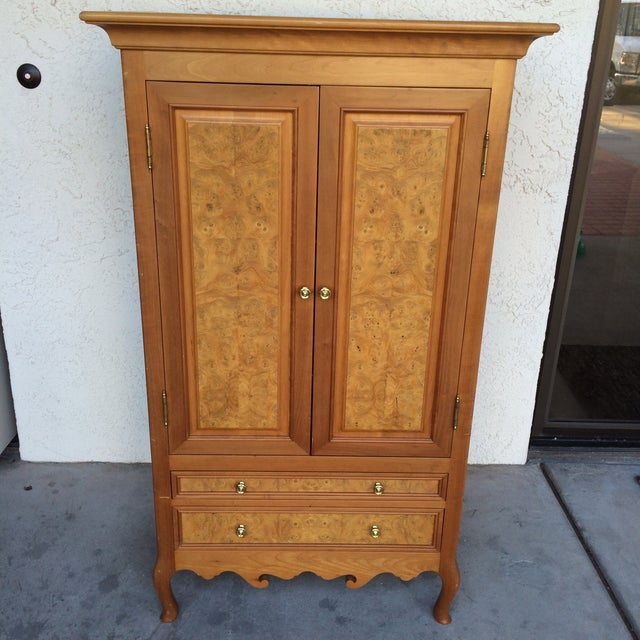 Burlwood Bar Cabinet - Image 2 of 8