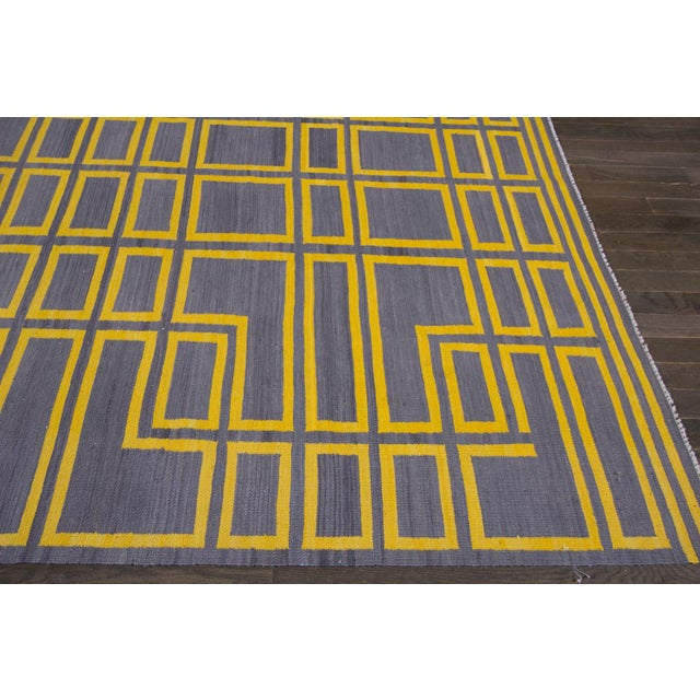 2010s 21st Century Modern Kilim Rug For Sale - Image 5 of 10