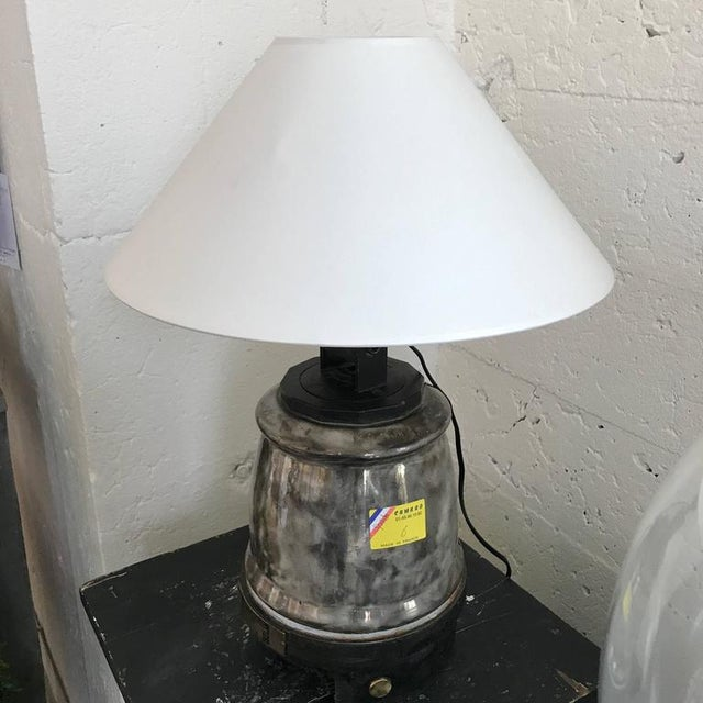 Early 20th Century Ceramic Isolant Lamp For Sale - Image 5 of 5