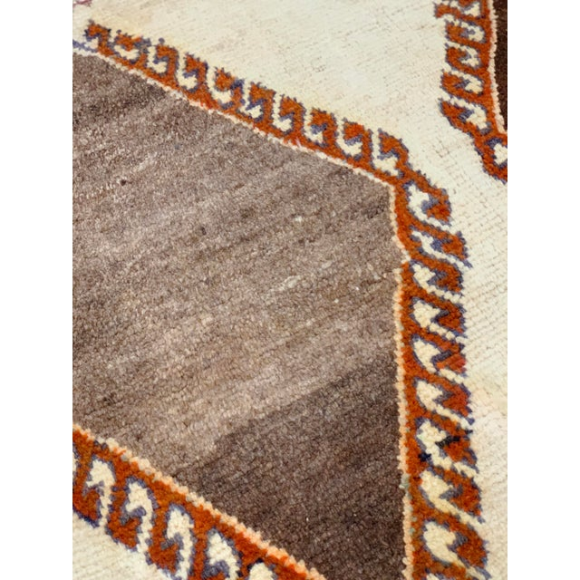 Textile 1960s Vintage Persian Gabbeh Rug - 4′2″ × 6′4″ For Sale - Image 7 of 13