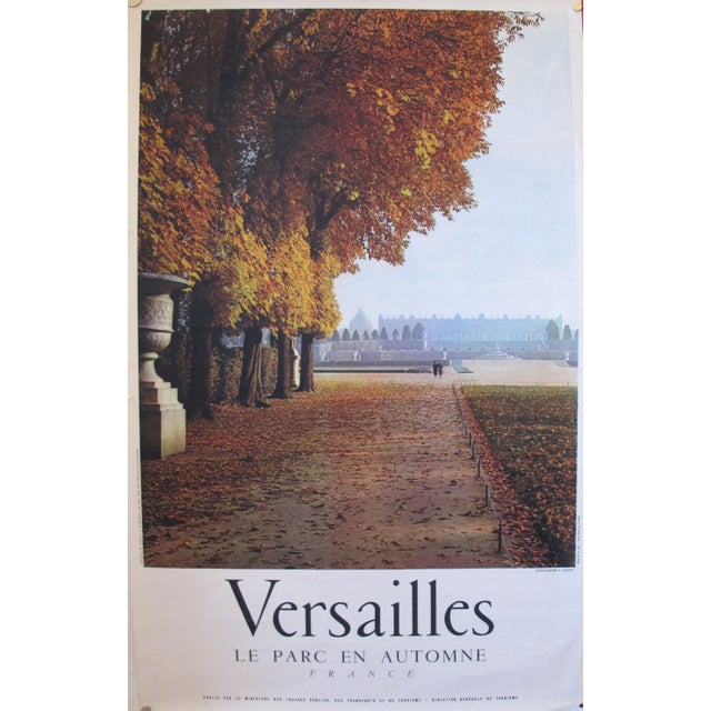 1950s French Travel, Autumn Versailles park - Image 1 of 3