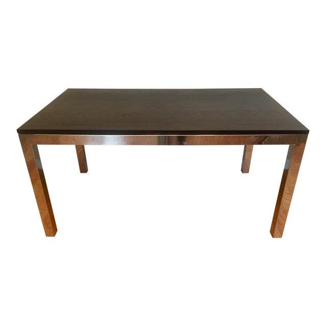 Modern Mitchell Gold Parsons Dining Table For Sale