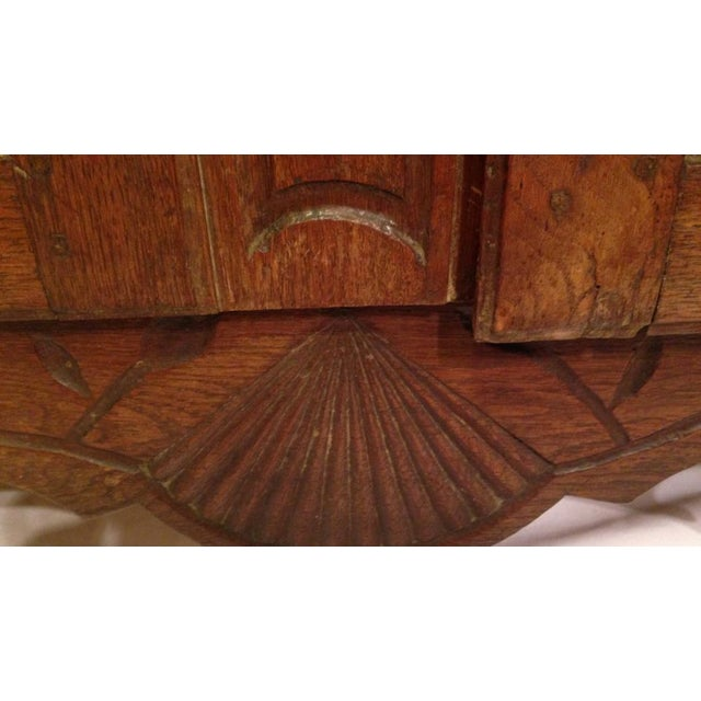 19th Century French Louis XV Walnut Buffet For Sale In Charleston - Image 6 of 11