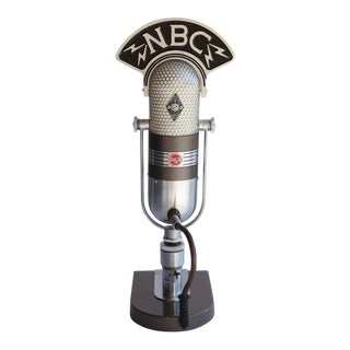 1950's Vintage Original RCA Microphone For Sale