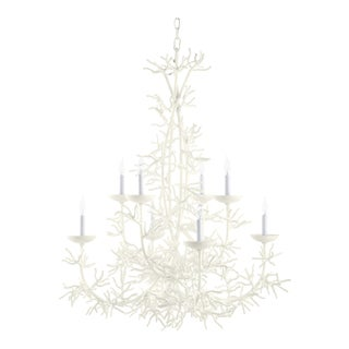 Calypso Chandelier, Cloud White For Sale